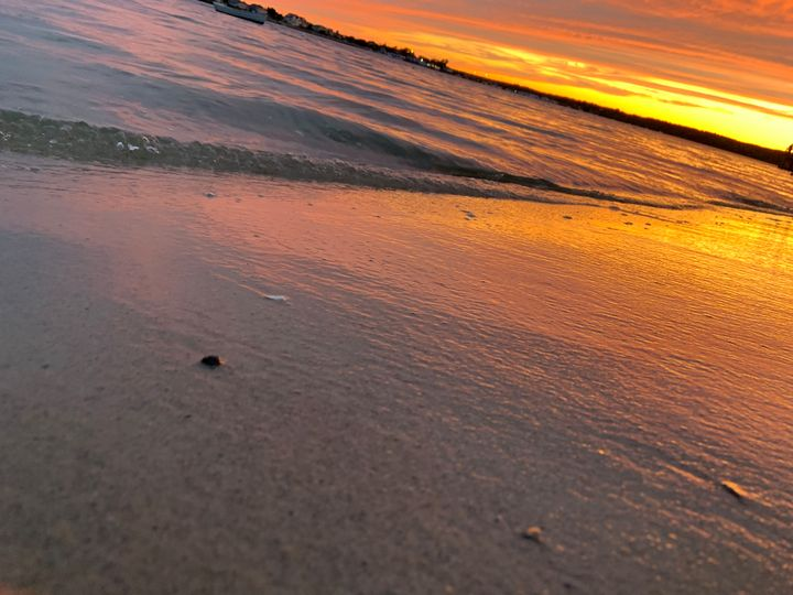 Orange sky - Nature_photography