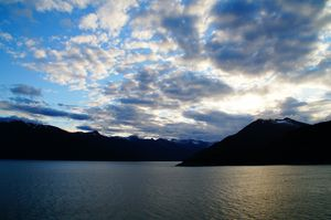 Sunrise Alaska - Shredwear Photography