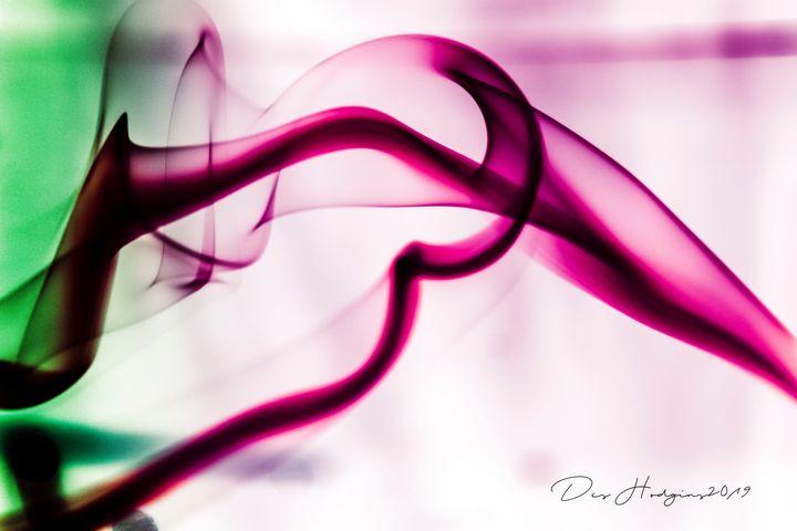 Dancing Smoke - Des Hodgins Photography