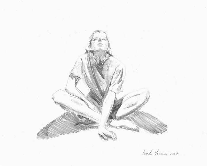 Selfportrait - Angela Sorosina