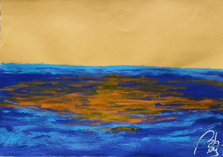 Blue landscape II - BACHMORS