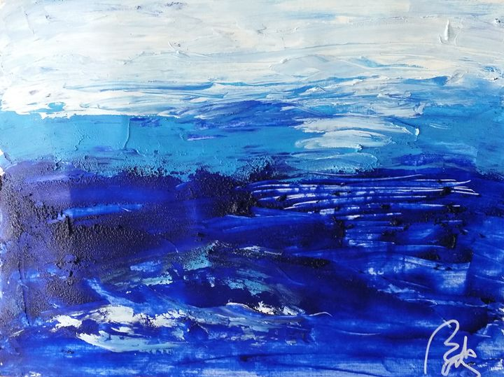 Blue landscape III - BACHMORS