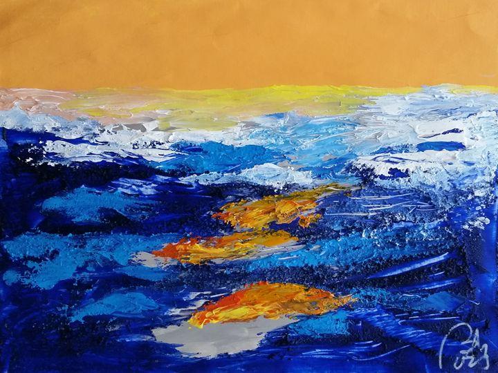 Blue landscape IV - BACHMORS
