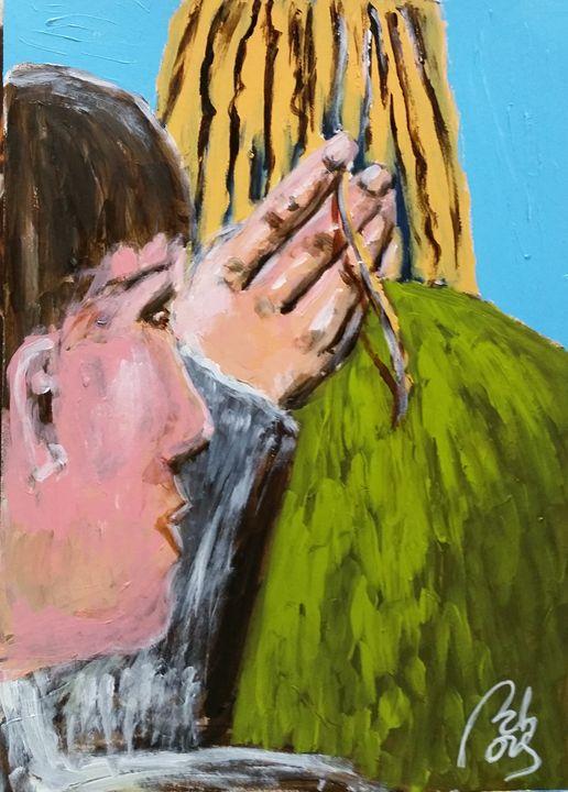 Your hair beetween my fingers II - BACHMORS