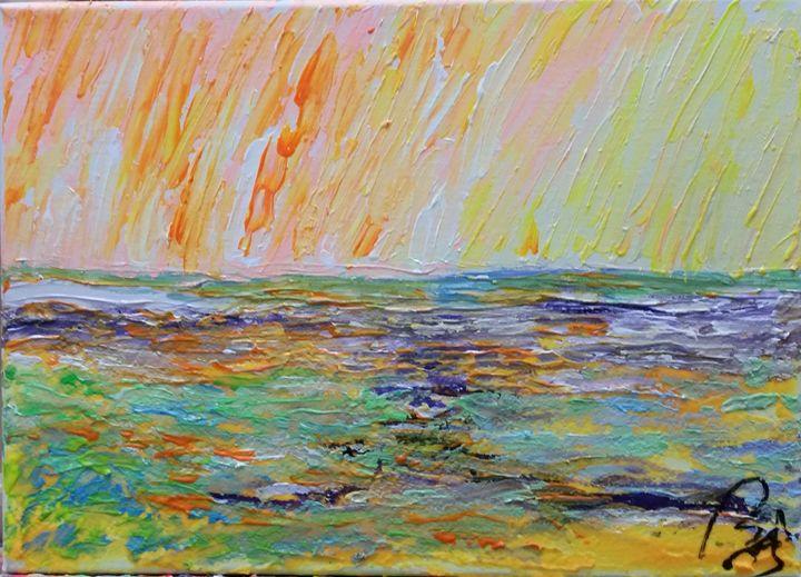 Multicolored Landscape IV - BACHMORS