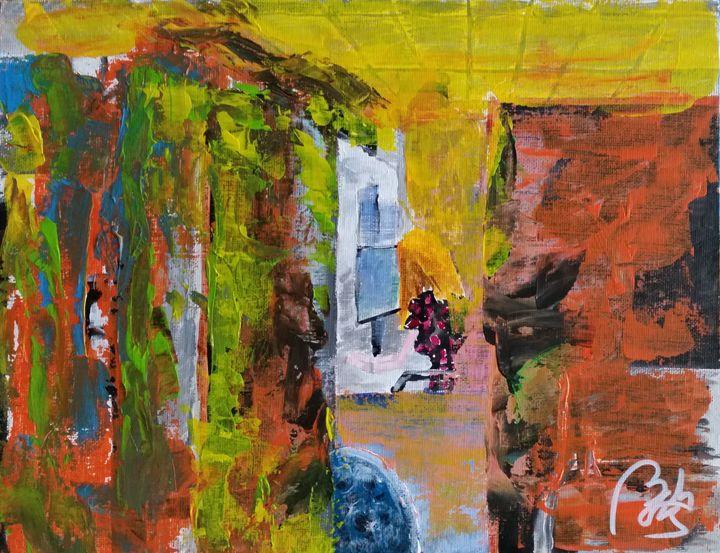 Detritus I: Woman working - BACHMORS