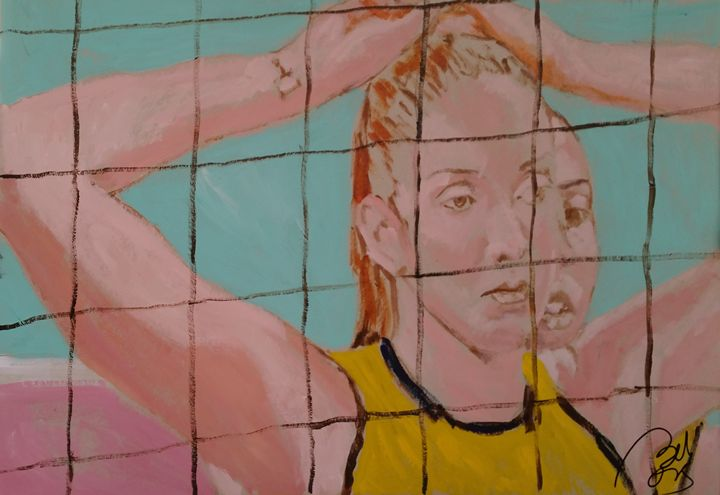 Volleyball tryptych III - BACHMORS