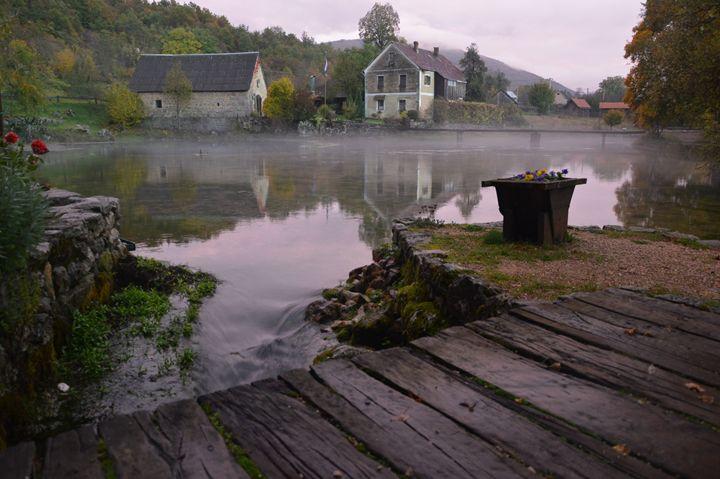 Water mills - walkwithloveart