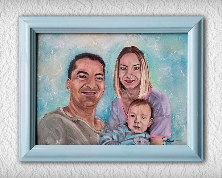 Custom portrait - Grinya