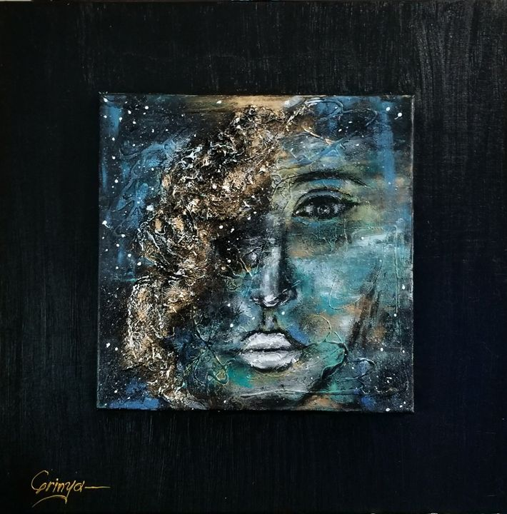 The rift , Mixed media - Grinya