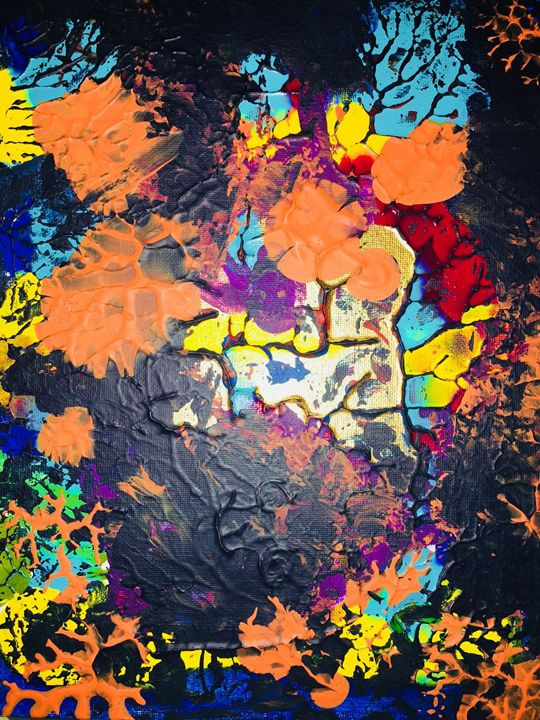 Mix Color Jary Bravo Paintings Prints Abstract Color