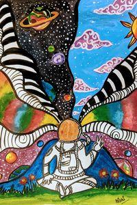 Trippy Astronaut