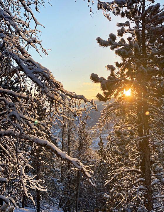 Frisco Colorado Sunrise - Heath Sample
