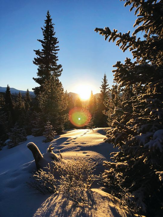Sunrise, Mayflower Gulch, Colorado - Heath Sample