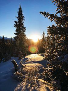 Sunrise, Mayflower Gulch, Colorado