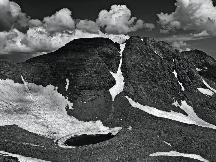 Castle Peak, Colorado Fourteener - Heath Sample