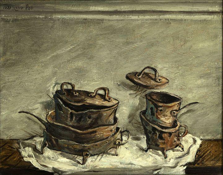 Pots and Pans by Yosl Bergner - El Cid Gallery