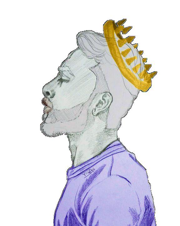 A self made king - Yas_tekent