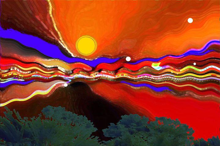 Andromeda Sunset - Mardelbolart