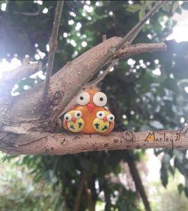 Handmade polymer Magnet - Marley Art