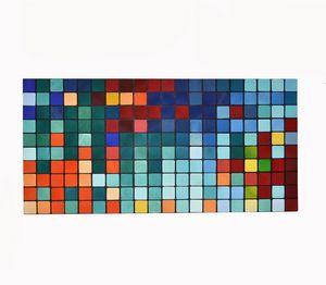 Sounds / Wood wall art / 125x60 cm