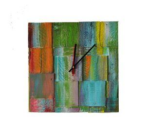 Rainbow Garden / Acrylic / 35x35 cm