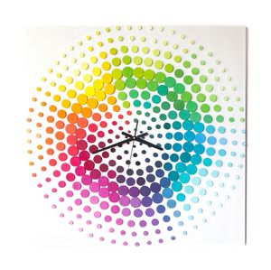 Time of rianbow 3D art 70x70 cm