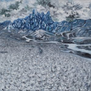 Patagonia glacier - XinArt