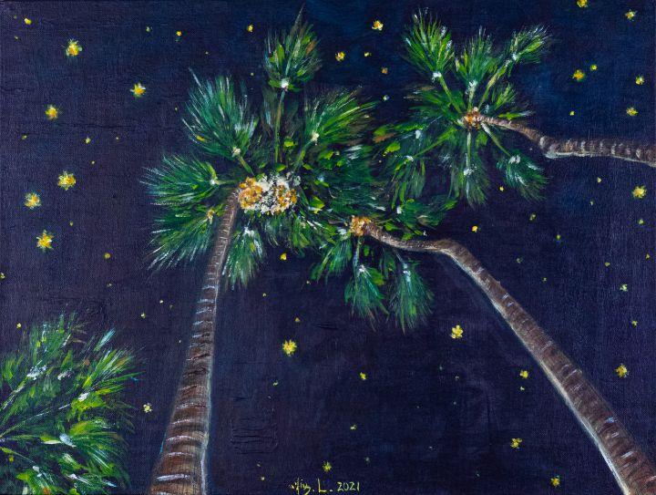 Tropical Starry Night - XinArt
