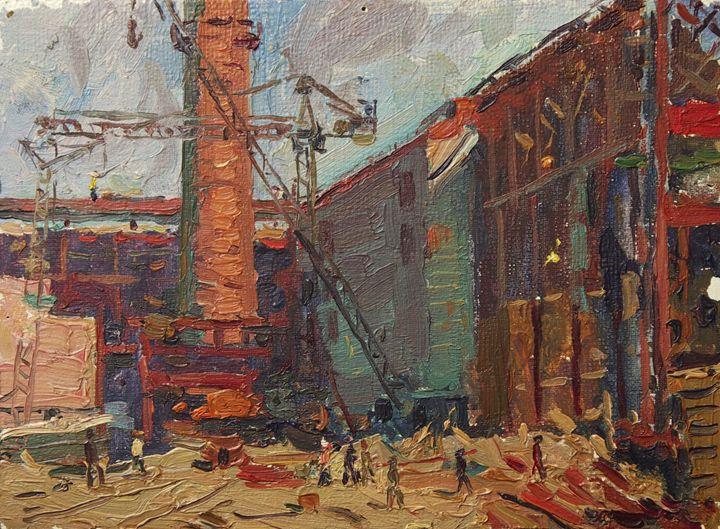 West-Siberian Metal Plant - Ivan Filichev Art