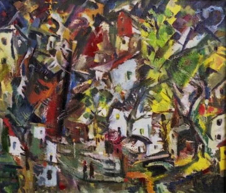 Little Miners' Town - Ivan Filichev Art