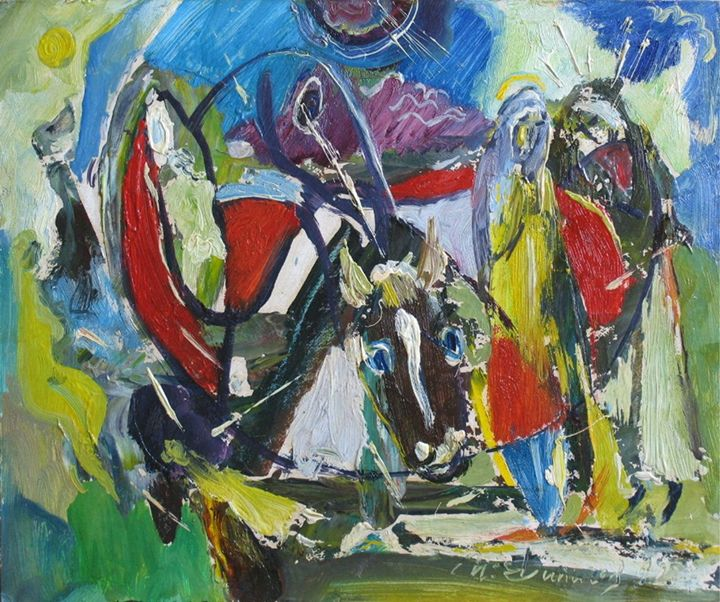 Christmas - Ivan Filichev Art
