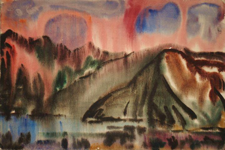 Evening Is Coming. Mongolia - Ivan Filichev Art