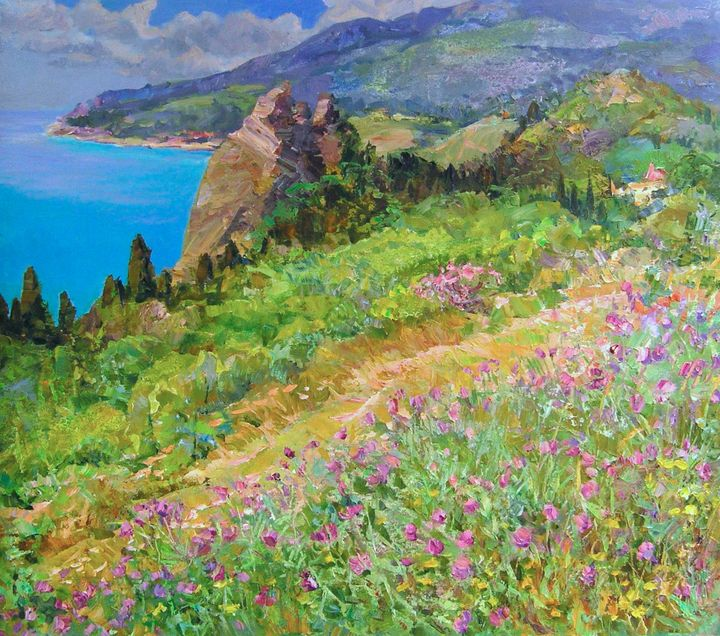 On the south coast - Aleksandr Dubrovskyy