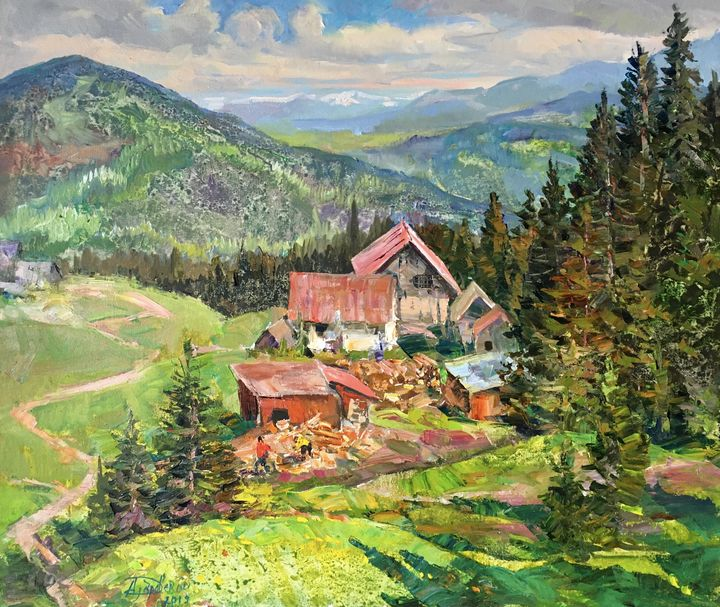 Moment in the Carpathians - Aleksandr Dubrovskyy