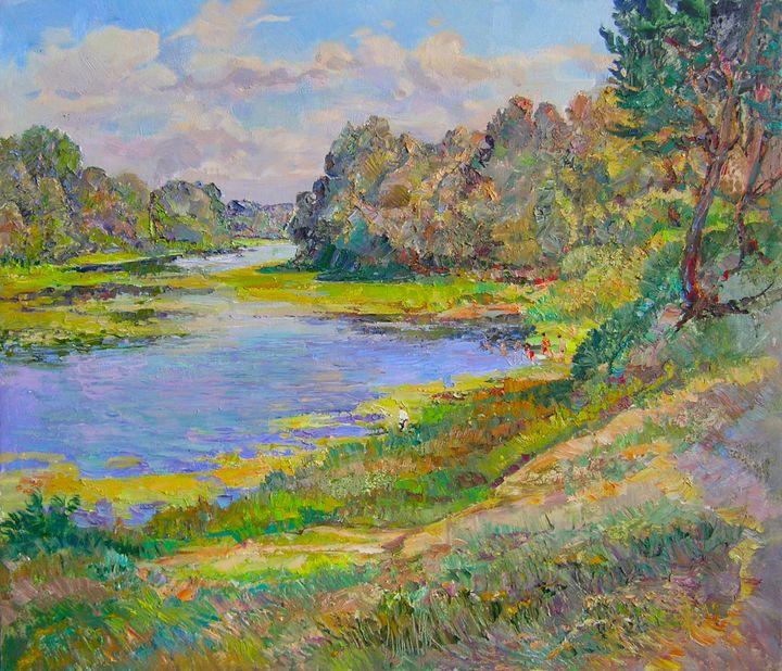 By the river - Aleksandr Dubrovskyy