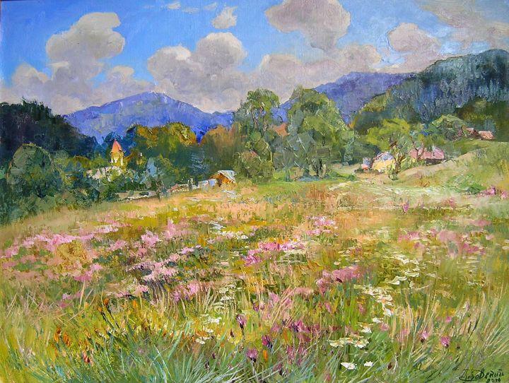 Blooming meadow - Aleksandr Dubrovskyy