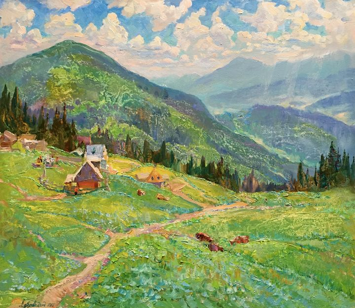 Happy day in the magical mountains - Aleksandr Dubrovskyy