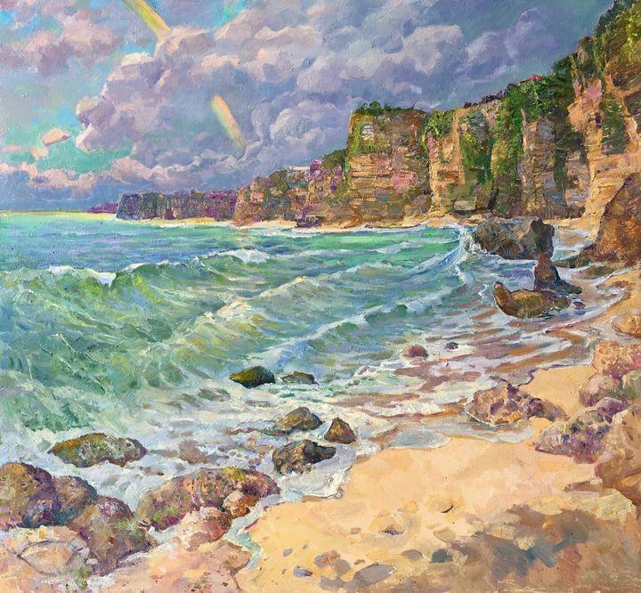 Rainbow over Bingin Beach - Aleksandr Dubrovskyy