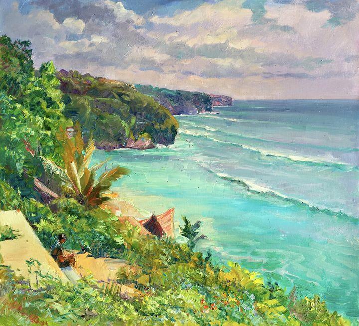 Sunny day at Bingin Beach - Aleksandr Dubrovskyy