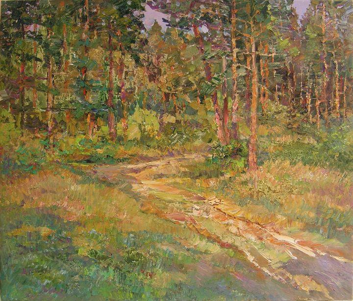 Walking in the forest - Aleksandr Dubrovskyy