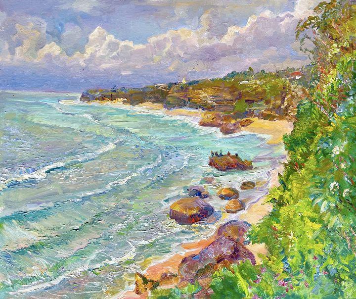 Beautiful waves at Bingin Beach - Aleksandr Dubrovskyy