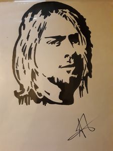 Cobain silhouette