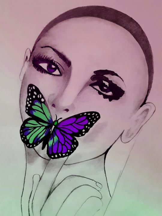Lady Butterfly - Justin Seavers