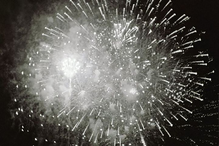 Boomsday Fireworks on Film - DMB Photography