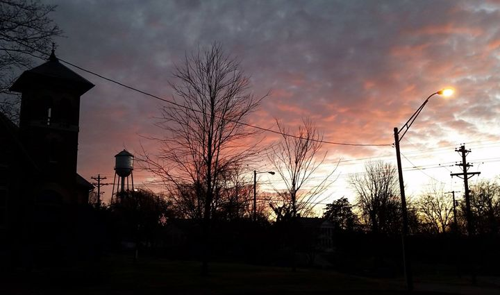 Watertower Sunset - DMB Photography