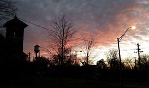 Watertower Sunset