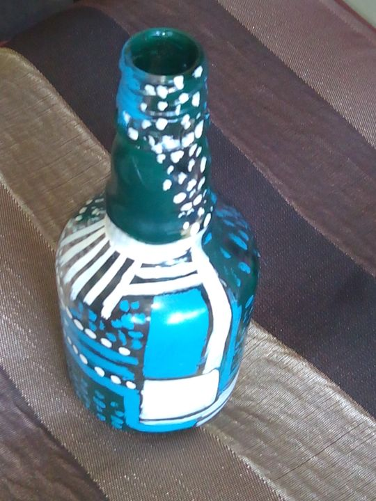 Decorative Glass Articles Moon Gallery Glass Vases Urns Artpal