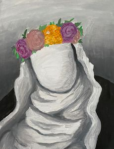 Faceless Flowered Nun