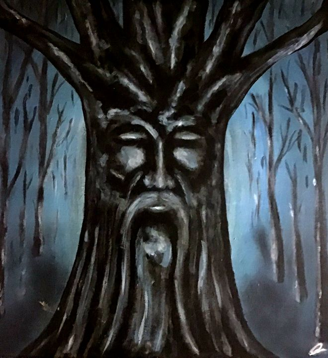 The Old Tree - Christopher B. Brown